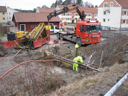 Fiberkabelns ankomst till Tystberga