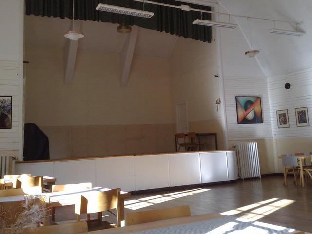 Stavsjö föreningshus salen